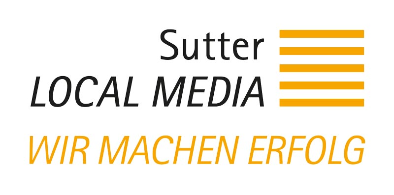 Sutter LOCAL MEDIA Logo mit Claim